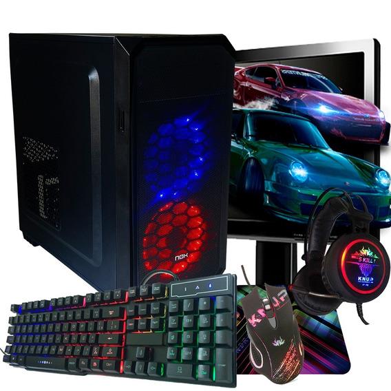 Pc Gamer Completo I5 500gb / Promoção / Geforce + Jogos