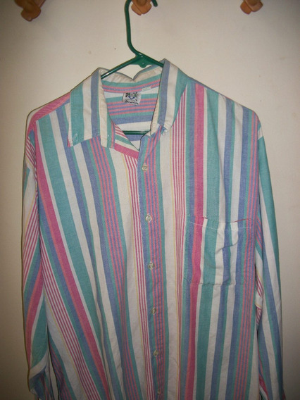 Camisas Estampadas A Rayas Manga Larga