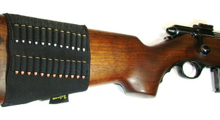 Cartuchera Tiros 22 P/ Culata D Rifle Funda Elástica Cazeria