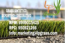 Grass Sintetico - Decorativo En Oferta!! Solo $12.50 El M2