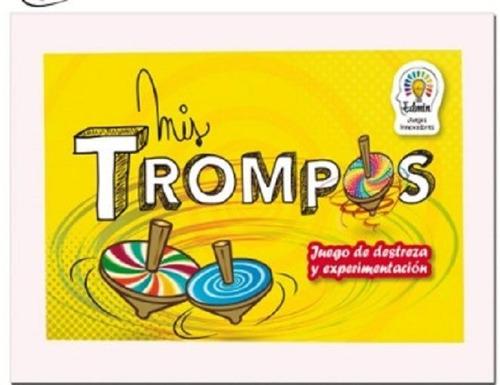 Mis Trompos - Crea Los Tuyos - Didactico - Hermoso -creativo