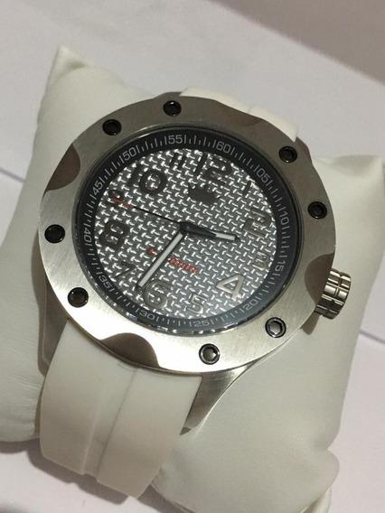 Relógio Branco Carmim !!!