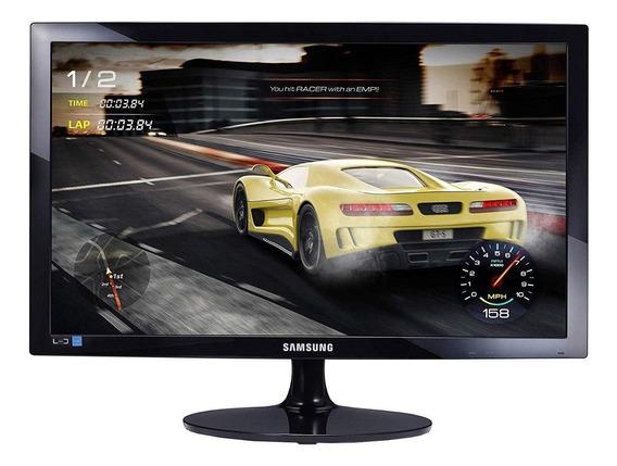 "Monitor Samsung S24D332H led 24"" preto-brilhante 110V/220V"