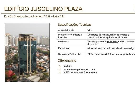 Conjunto Comercial Para Locação Em São Paulo, Itaim Bibi, 1 Dormitório, 6 Banheiros, 16 Vagas - 2704_2-949300