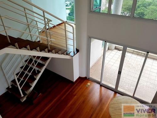 Imagem 1 de 15 de Duplex Com Pé Direito Duplo - Nm4110