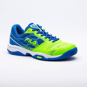 Tênis Fila Top Spin 2.0 Verde E Azul