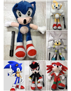 Sonic Amy Silver De Peluche Importado Calidad Original Ofert