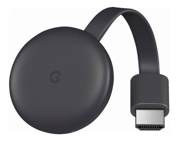 Aparelho Adaptador Smart Tv Chromecast 3 Youtube Netflix Box