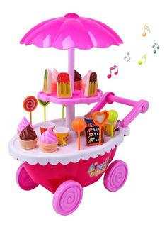 Carrito De Helados Con Luces Y Sonido Ice Cream Infantil