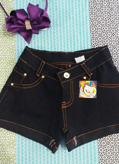 Super Promoção Short Jeans Infantil Feminino