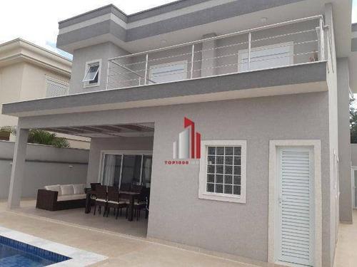 Casa Com 3 Dormitórios À Venda, 350 M² Por R$ 2.378.500,00 - Alphaville - Santana De Parnaíba/sp - Ca0097