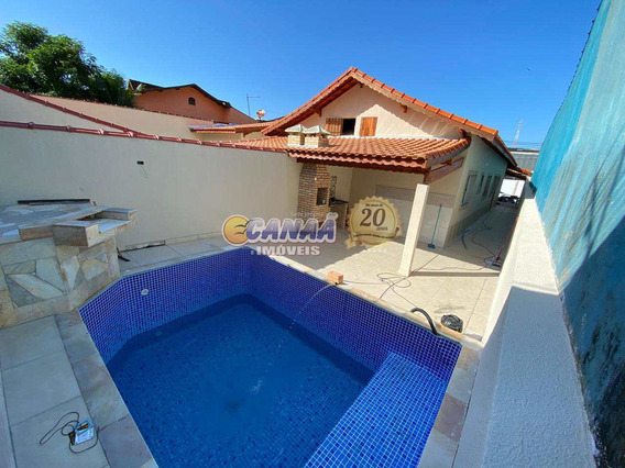 Vendo Casa Nova Lado Praia C/ Piscina Em Mongaguá Ref 8074 E