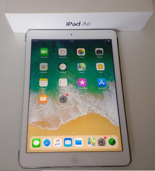 iPad Apple 32 Gigas, Tela 9.7 C/ Capa E Teclado S/ Fio