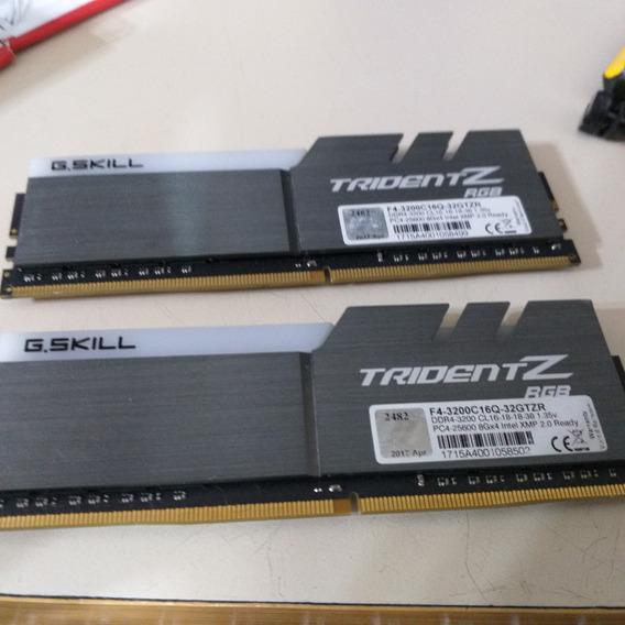 Memoria Ddr 4 G. Skill Tridentt Z 3200 Cl16-18-18-38 (02x08)