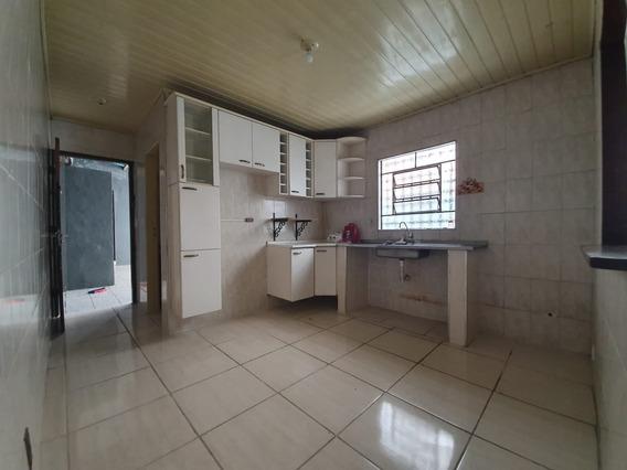 Casa Para Alugar - 5 Cômodos Grandes - Jd Sílvia - Embu Das Artes - 743 - 34565964