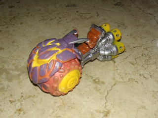 Skylanders Superchargers Vehiculo Burn-cycle