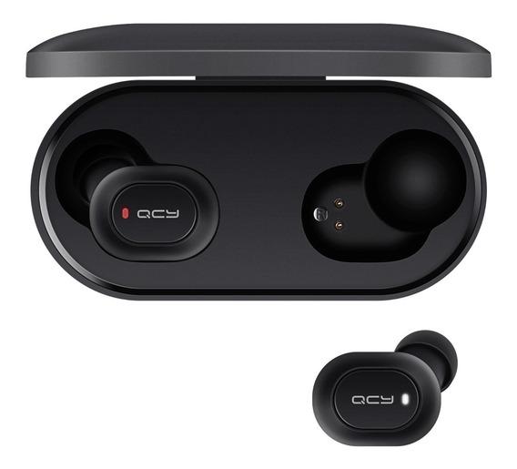 Qcy T2c Tws Bluetooth 5.0 Earbuds Com Dual Mics Preto