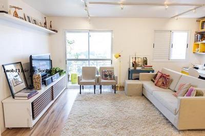 Apartamento Mobiliado Para Locação Em Osasco, Umuarama, 2 Dormitórios, 1 Suíte, 2 Banheiros, 2 Vagas - 4755