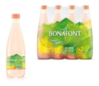 Água Bonafont Lemon Squeeze 500ml - Pack 12 Unidades Com Gás