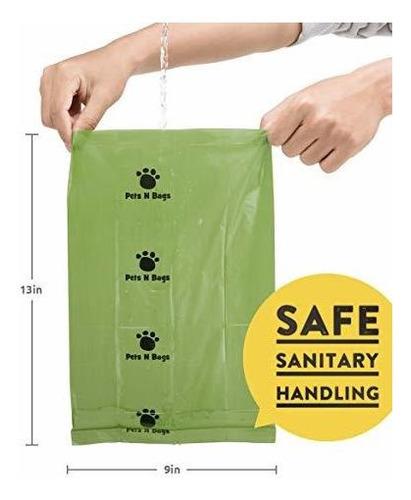 Brand: Pets N Bags Dog Poop Bags, Waste Biodegradable