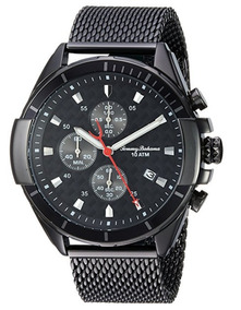 Reloj Tommy Bahama Acero Inoxidable Color Negro