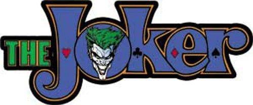 Licencias Productos Dc Comics Batman Joker Logo Sticker