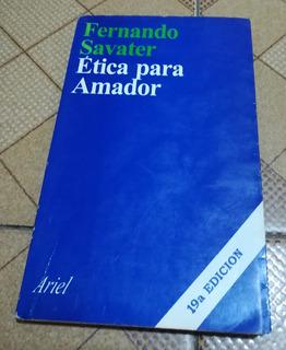 Libro Ética Para Amador De Fernando Savater, 19a Edición