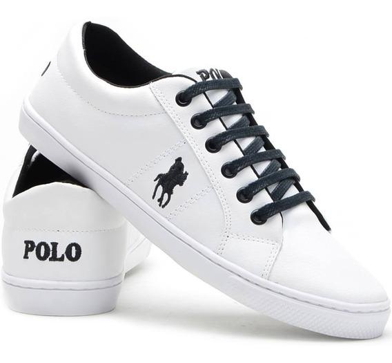 Tenis Masculino Polo Plus Original Sapato Casual Sapatenis