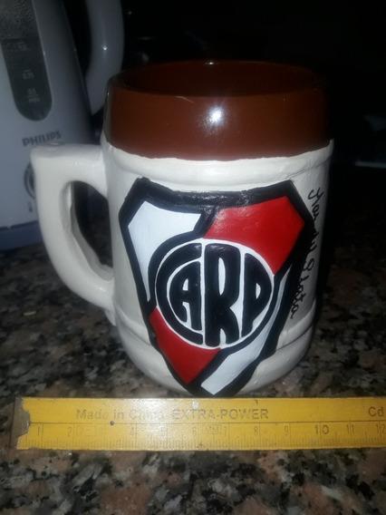 Chopera De River Plate Grabada En Relieve