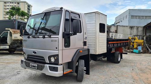 Ford Cargo 816 Carroceria Madeira Cabine Suplementar