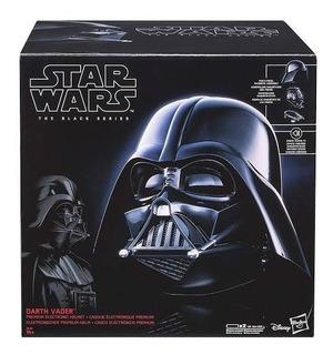 Casco Darth Vader Premium Black Series Electronico 18 Meses