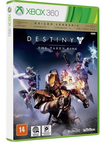Destiny + Expansão 1, 2 + The Taken King - Midia Fisica Original E Lacrado - Xbox 360