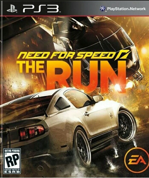 Need For Speed The Run Ps3 Playstation 3 Jogo Comprar