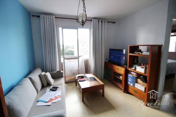 Apartamento Com 2 Dormitórios Para Alugar, 57 M² Por R$ 1.650,00/mês - Jaguaré - São Paulo/sp - Ap4267