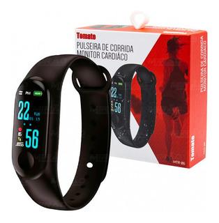 Relógio Smartwatch, Pulseira Inteligente Tomate Mtr-06