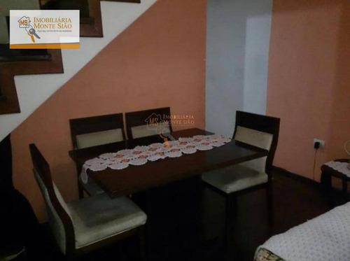 Sobrado Com 2 Dormitórios À Venda, 90 M² Por R$ 350.000,00 - Jardim Eusonia - Guarulhos/sp - So0224
