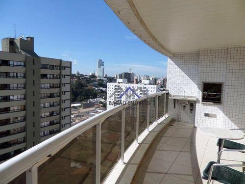 Apartamento Com 4 Dormitórios À Venda, 184 M² Por R$ 1.260.000,00 - Jardim Paris - Jundiaí/sp - Ap1067