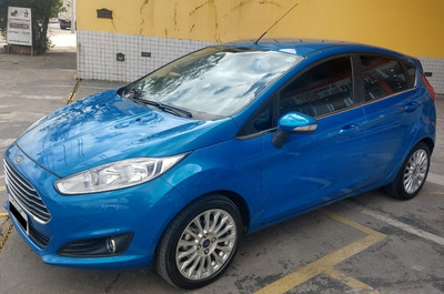 Ford Fiesta 1.6 Titanium Hatch Flex 5p Powershift - Un. Dono