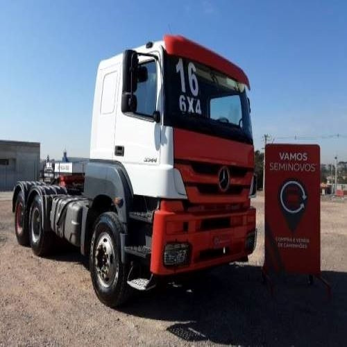 Imagem 1 de 10 de Mercedes Benz Axor 3344 6x4 2016/2016 238.301km