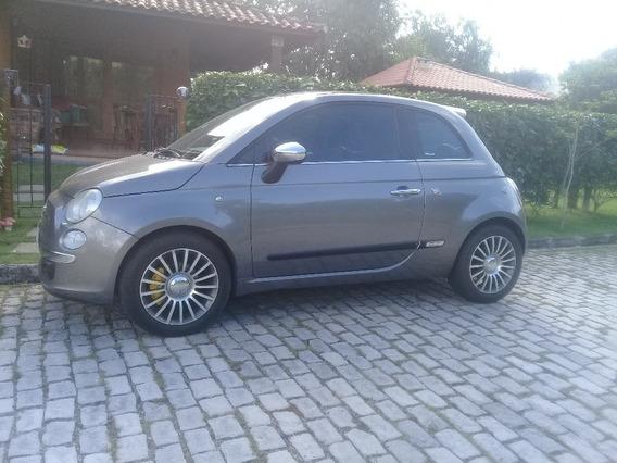 Fiat 500, Lounge 1.4 Dualogic, 100 Cv, Ano 2010