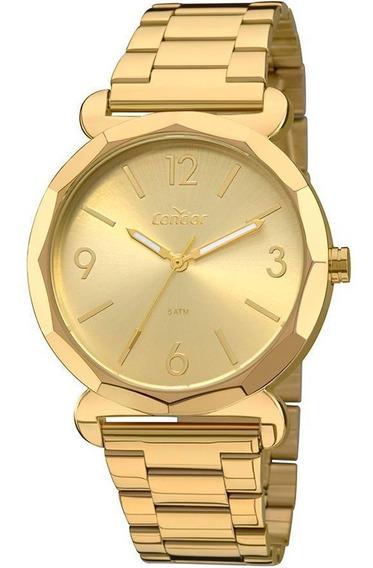 Kit Relógio Feminino Condor Coal2035fay/k4x