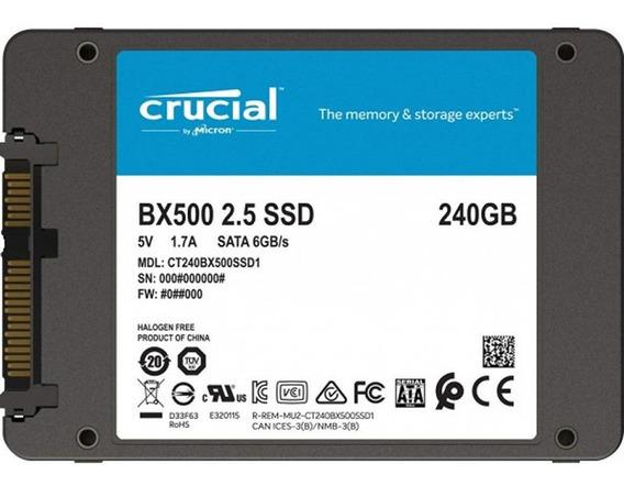 Crucial Disco Ssd 240gb 2.5 Sata Bx500