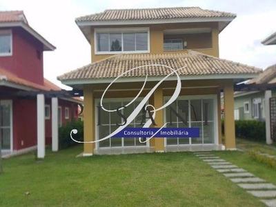 Aldeia Dos Reis, Costa Verde, Casa Duplex, 3 Quartos (suite), Em Um Clube Condominio - Ca00543