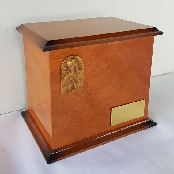 Urna Funeraria Para Cenizas Clásica Virgen De Gualalupe