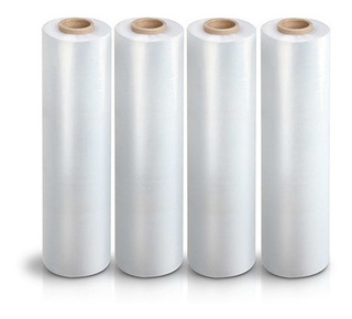4 Rollos Polystrech 18 Inch X 1200 Ft Cal.70 Emplayes