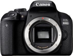 Canon 800d + 18-55mm + Bateria & Carregador