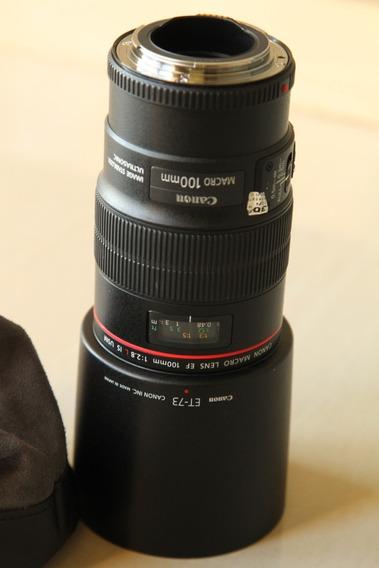 Lente Canon Ef 100mm F/ 2.8 L Macro Is Usm