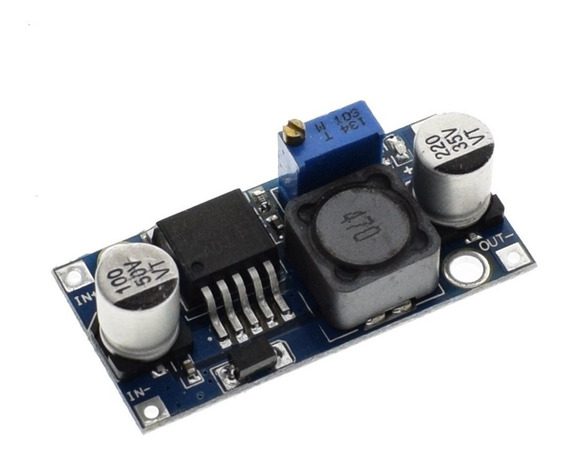 Regulador Tensão Step Down Buck Dc-dc Lm2596 3a Arduino Pic