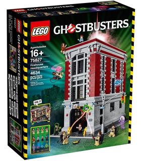 Lego Cazafantasmas 75827 Cuartel De Bomberos Bunnytoys