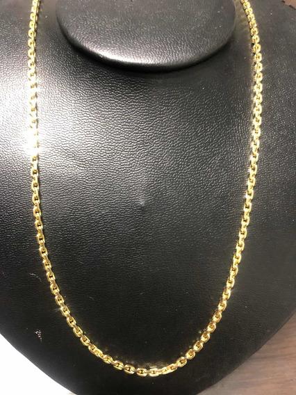 Cordão Masculino Em Ouro 18k. Modelo Cartier.